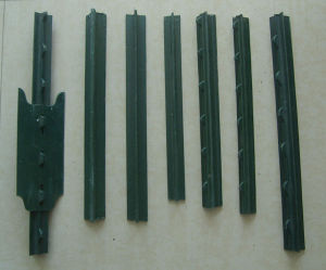 American Steel Studded T Post Galvanized / Green Paint T Post pictures & photos