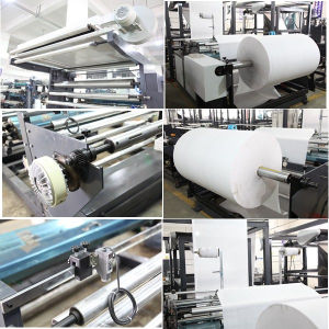 Full Automatic Non Woven Bag Machine with Online Handle pictures & photos