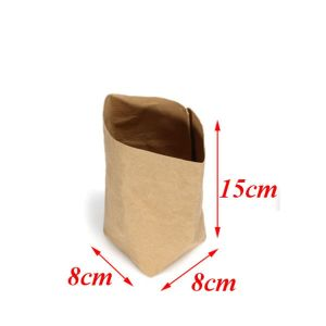 Waterproof Kraft Paper Bag Plant Finishing Desk Storage Case Gift Box pictures & photos