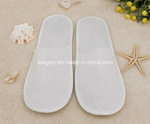 White Nonwoven Hotel Indoor Bathroom Disposable Shoes pictures & photos