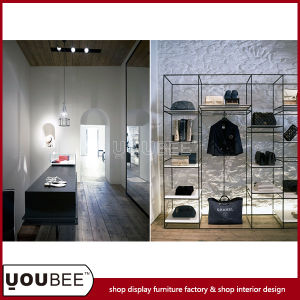 Simple Metal Display Shelf for Handbag Shop Interior Decoration pictures & photos