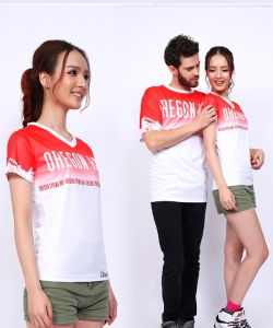Factory Wholesale Fashion Printed His-and-Hers T-Shirt pictures & photos