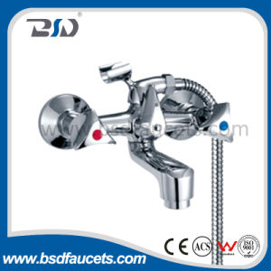 "1/2""90degree Quick Open Gravity Casting Brass Bath Faucet pictures & photos"