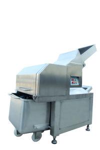 Sausage Frozen Meat Cutter 4000kg/H pictures & photos