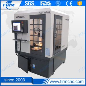 Mini Small FM4040 China CNC Moulding Machine for Metal pictures & photos