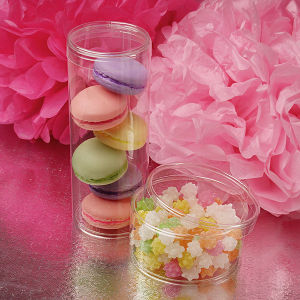 custom gift box for macaron (PP box) pictures & photos