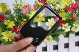 Mini Magnifier Pocket LED Card Magnifying (HW-212PA) pictures & photos