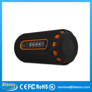 6600mAh Outdoor Waterproof Portable Stereo Wireless Bluetooth Speaker for Cyclist with LED (JN1008)