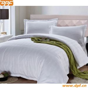 100% Cotton Plain White Duvet Cover pictures & photos