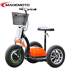 3 Wheel 350W Brushless Motor Electric Scooter pictures & photos