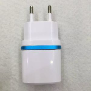 EU/Us Plug Colorful Single/Dual USB Travel Charger pictures & photos