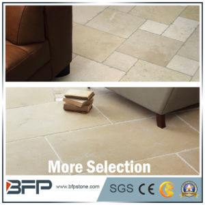 Beige Limestone Flooring Tile for Inside and Outside pictures & photos
