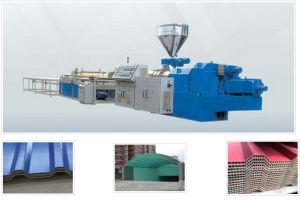 PVC Hollow Wave Production Line, Max Width 900mm