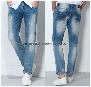 Hot Sale Mens Denim Jeans with High Quality pictures & photos