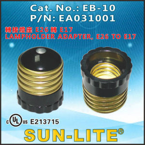 E26 Adapters Lamp Holders (Push-in quick terminals) ; Eb-01b pictures & photos