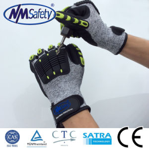 Nmsafety TPR Impact Resistant Working Safety Gloves pictures & photos