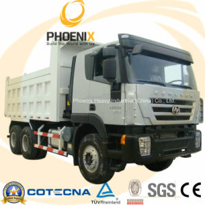6X4 340HP Iveco Genlyon Dump Truck/ Tipper with New Cabin Design pictures & photos