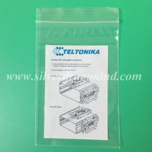 LDPE Adhesive Header Bag for Battery Waste pictures & photos
