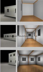 Container House for Labor Camp with Kitchen Toilet Clinic Ablution Hospital pictures & photos