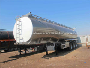 3 Axle Truck Fuel Oil Tanker Semi Trailer