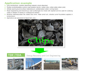 Hot Sale! Dura-Shred Rubber Chips Portable Waste Tire Recycling Machine pictures & photos