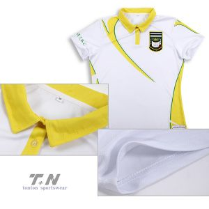 100% Polyester Sports Dri Fit Customized Sublimation Polo Shirts pictures & photos