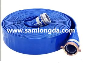 High Qualit PVC Layflat Hose with Coupler (LF40) pictures & photos