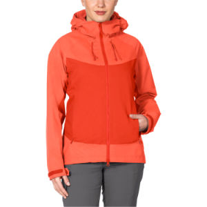 Women Waterproof Breathable Outdoor Rain Jacket pictures & photos