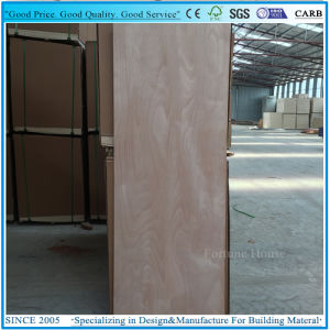 3X6′ 3X7′ Door Skin Plywood Panel with Okume Veneer pictures & photos
