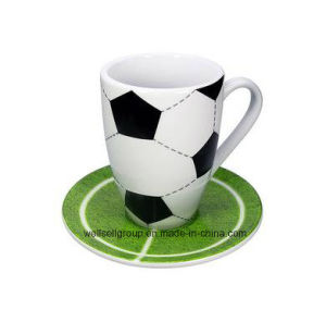Promotional Mug Set Football with Saucer (CPBZ-4029) pictures & photos