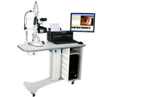 Digital Slit Lamp Microscope with Imaging Processing System pictures & photos