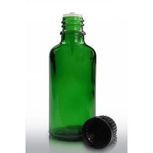 Factory Delivery Green Glass Dropper Bottles with Closures Made in China pictures & photos