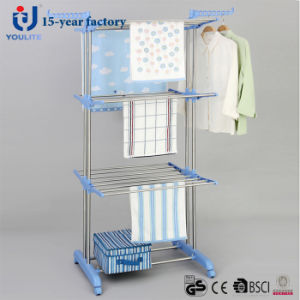 Stainless Steel Three Layer Cloth Dring Rack pictures & photos