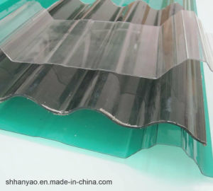 Shanghai Supplier Translucent PVC Tile Roof with Cost Price pictures & photos
