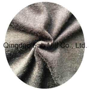 100%Polyester Soft Knitted Fabric (QF13-0666) pictures & photos