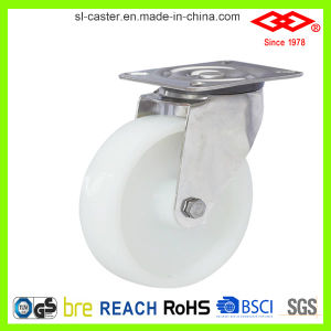100mm Nylon Swivel Stainless Steel Castor (P104-20D100X35) pictures & photos