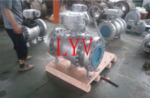 Full Bore Flanged 3PCS Fixed Ball Valve