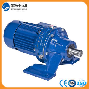 Pin Wheel Speed Gearbox Cycloidal Reducer with Motor pictures & photos