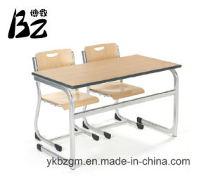 Double Student Table and Chair (BZ-0001) pictures & photos