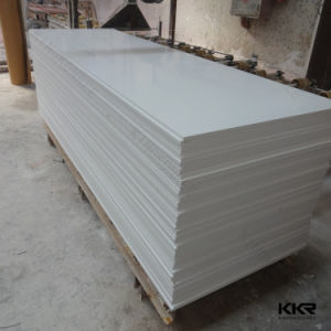 Artificial Stone White Acrylic Solid Surface for Wall Panel pictures & photos