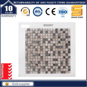 Shinning Powder Crystal and Marble Stone Mosaic pictures & photos