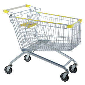Zinc Supermarket Shopping Seat Cart Trolley pictures & photos