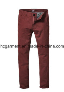 Walking Cargo Colorful Chino Soft Cotton Casual Pants for Man pictures & photos