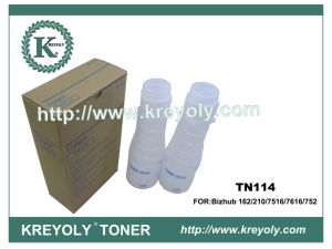 Konica-Minolta Toner Cartridge Black Toner for TN 114 pictures & photos
