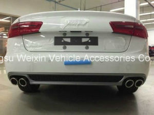 "Car A6 2013-2014"" Rear Front Lip Bumper Spoiler pictures & photos"