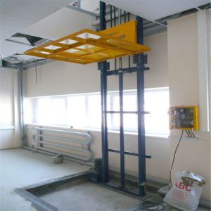 Sjd3.0-6 Hydraulic Guide Rail Warehouse Hydraulic Lift pictures & photos