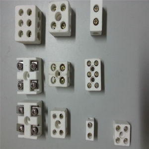 Ceramic Terminal Parts for Heating Elements Connector pictures & photos