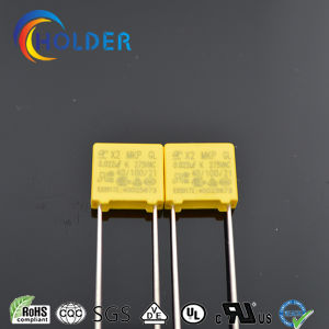 Box Miniature Metallized Polypropylene Film Capacitor (X2 0.022UF/275V) pictures & photos