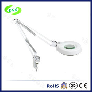 Clamp Medical Magnifier Lamp with LED Light (EGS500A) pictures & photos