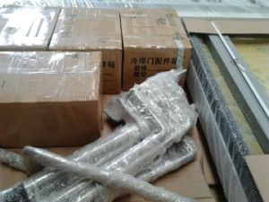 Ss304 Aluminum Angle Bar for Cold Room/Freezer Room pictures & photos